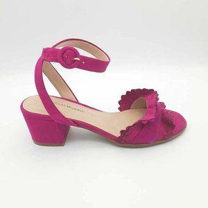Isaac Mizrahi Maisy Sandals Purple Leather 7.5 New